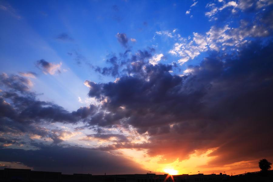 Pues de Sol con Rayos