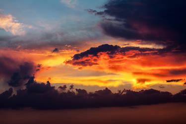 Nubes en San Isidro