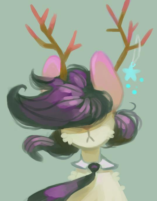 Hair floof by vela-novas