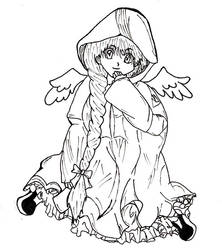 Kaori Angel by bardofsilence
