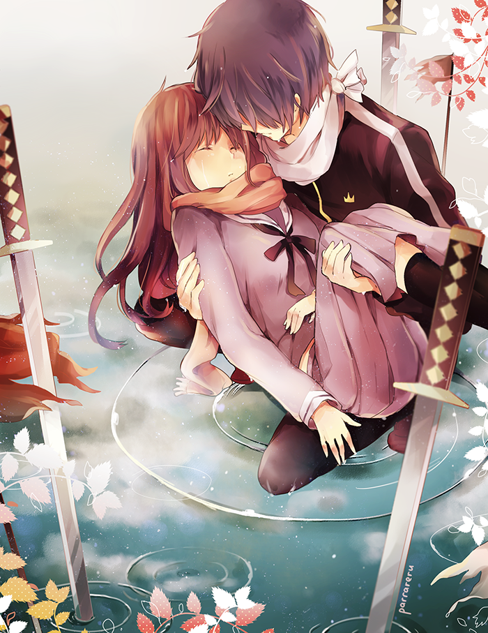 Noragami mamoru by parrareru on deviantart - Cute anime couple pictures ...