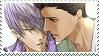 Ieyasu x Mitsunari 2 Stamp by EngelchenYugi