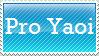 Pro Yaoi Stamp by EngelchenYugi