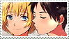 Eren x Armin Stamp by EngelchenYugi