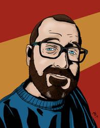 Self Portrait by BlackSnowComics