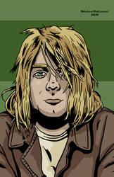 Kurt Cobain by BlackSnowComics