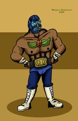 Juan from Guacamelee by BlackSnowComics