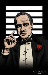 The Godfather by BlackSnowComics