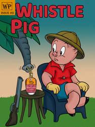 Porky Pig Elephant Whiskey Label