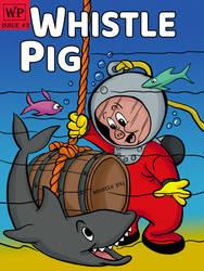 Porky Pig Scuba Whiskey Label