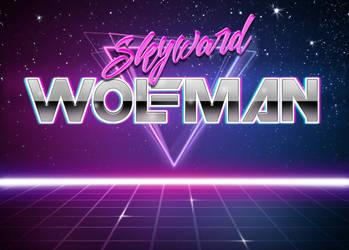 Super 80's Galaxy Grid Custom Background by The-Skyward-Wolfman