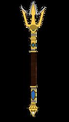 Trident of Poseidon by The-Skyward-Wolfman