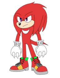 Movie Knuckles the Echidna