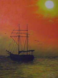 Sun set by Jow by sakura-shi88