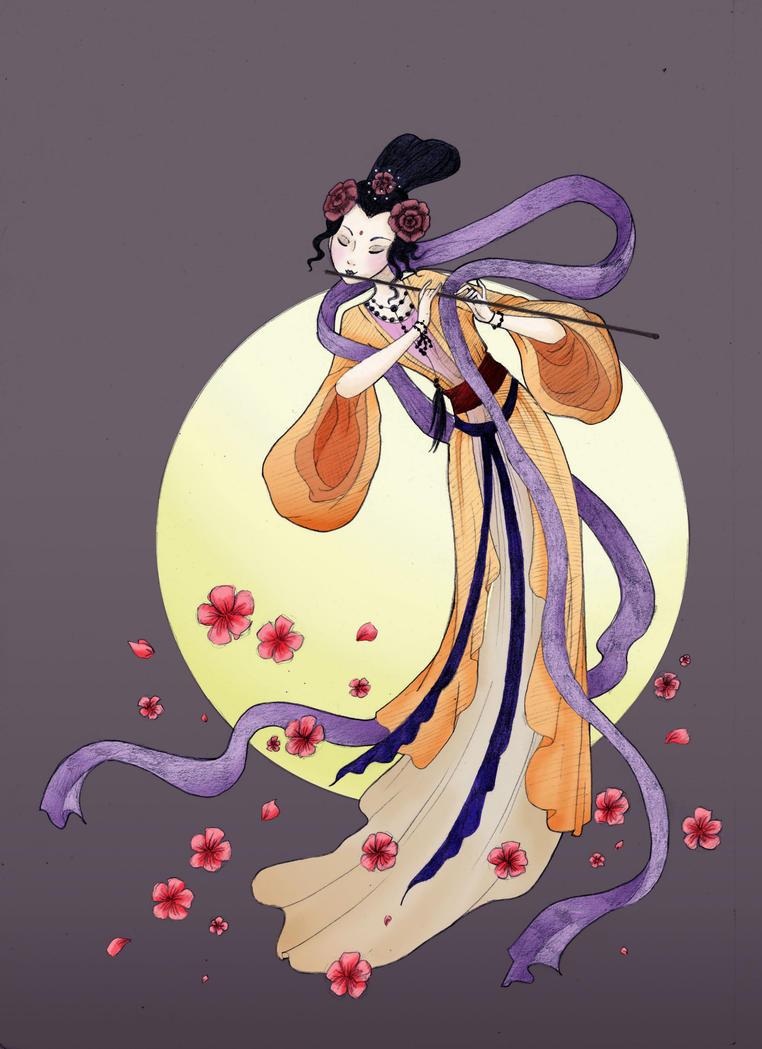 Chang'e - Moon Goddess by sakura-shi88 on DeviantArt