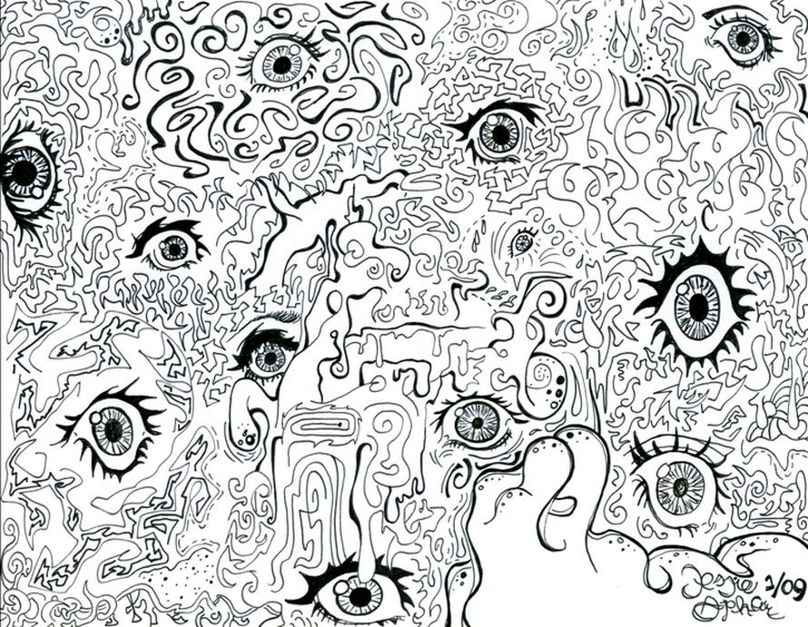 Mushroom-doodles by vedica on DeviantArt