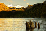 Alpenglow at Lake Mary
