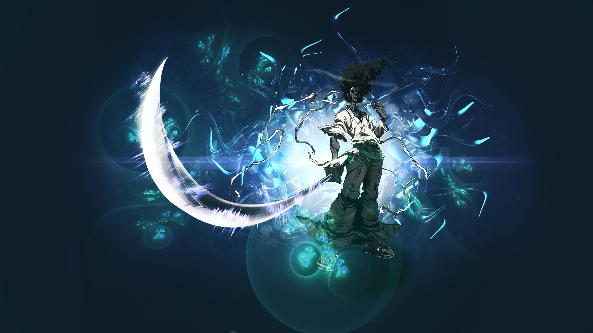 Afro Samurai Wallpaper (Inc WIP video) by TheMMMCake