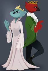 The Royal Couple by finnien