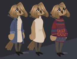 Amanda Estrada (Reference Sheet) by finnien