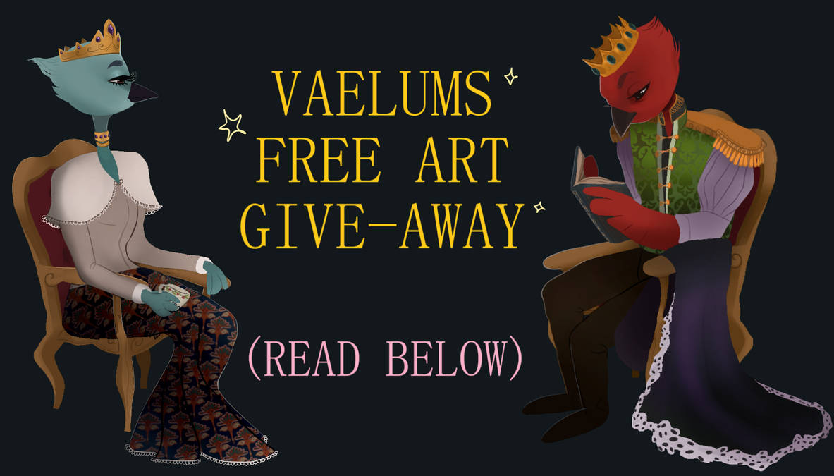 Art Give-Away Promo by finnien