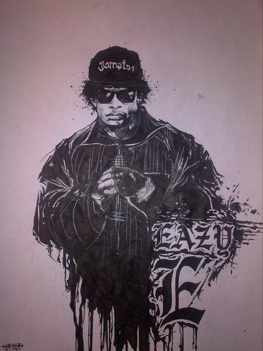 Eazy E R I P By Quntix On Deviantart