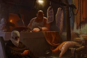 butcher W.I.P. by 0BO