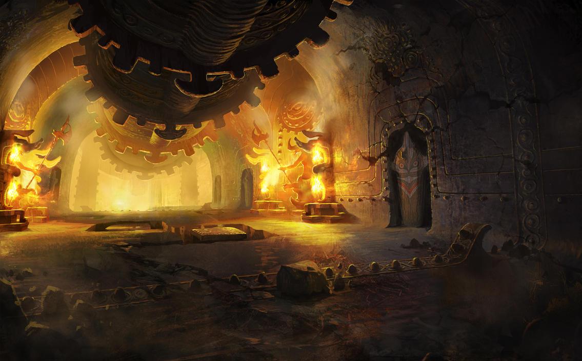 Abandoned Serpentcity Room 4 by 0BO