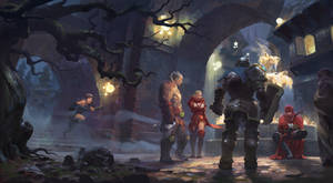 [Dragon-Slayer] redsteam 2D cinematic Board6 final