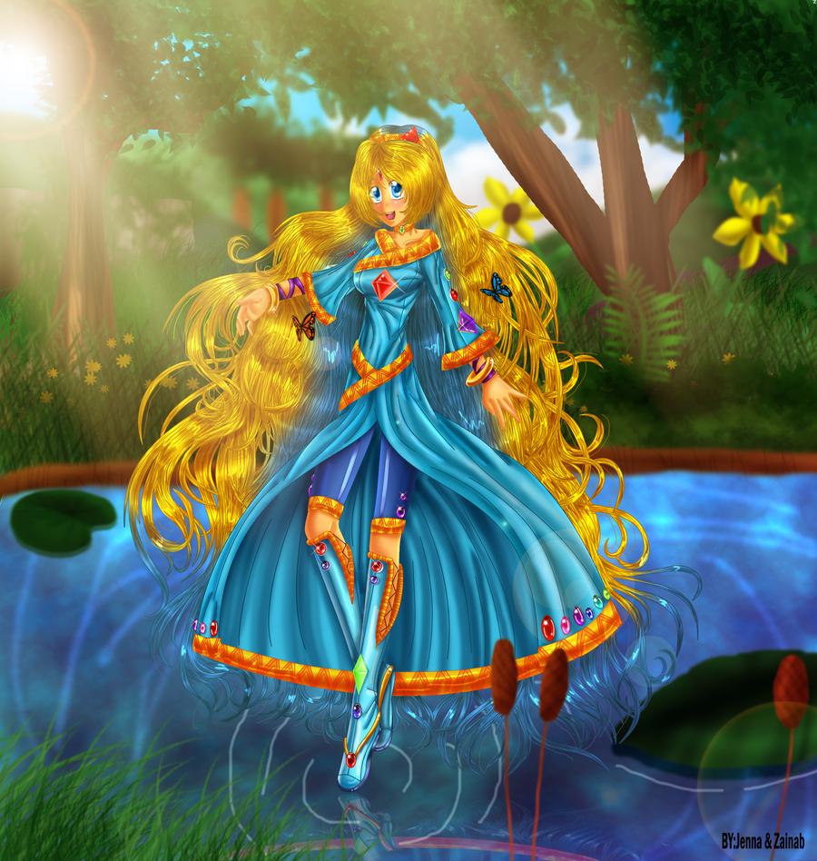 Princess sarah by zaameen on deviantart - Princesse sarah 5 ...