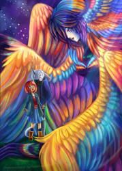 Queen Harpy by zaameen