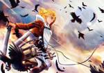 Attack on titan - Annie Leonhardt by zaameen