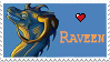 Raveen stamp by illoostrator