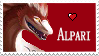 Alpari stamp by illoostrator
