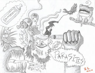 Fossil House Punkfest by supersqueeateyobabyz