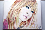 CL -- 2NE1 Painting Fanart