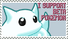 Support Beta Pokemon Stamp by NeonLugia