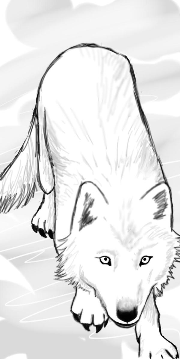 Wolf by HellsButterfly666