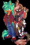 (Com) Ryuna and Zorro