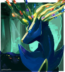 Xerneas by Galaxynite