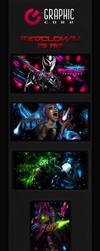 RedClown PSD's Pack #1 by RedClownGFX