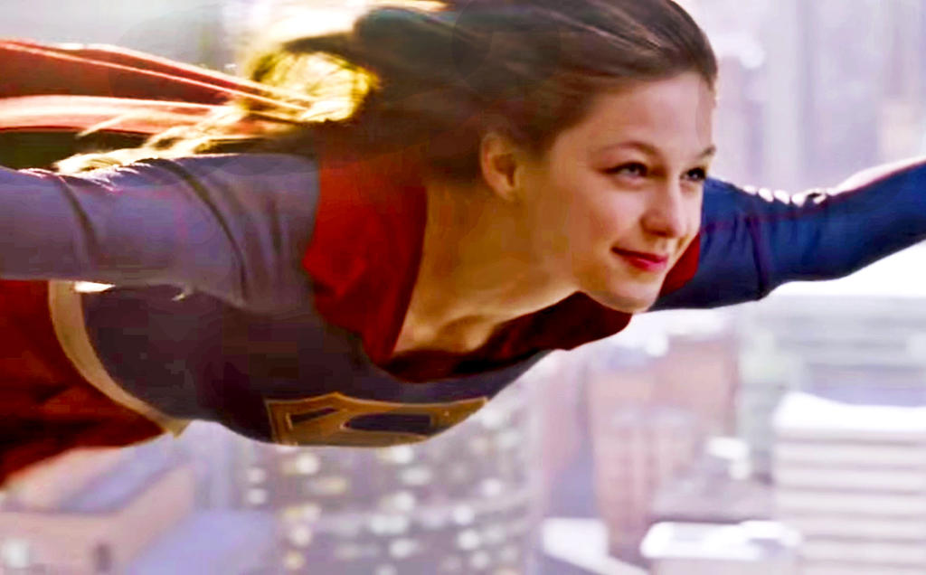 Supergirl-fly by Mad-Man-with-a-Pen