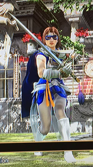 Astra Girl in Soul Caliber 2