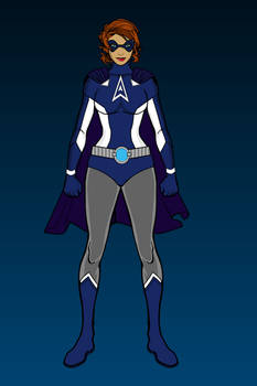 Astra Girl: Alt-Costume for IN SPACE!