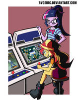 Arcade game freak by rvceric