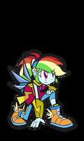Rainbow Dash Magic Form