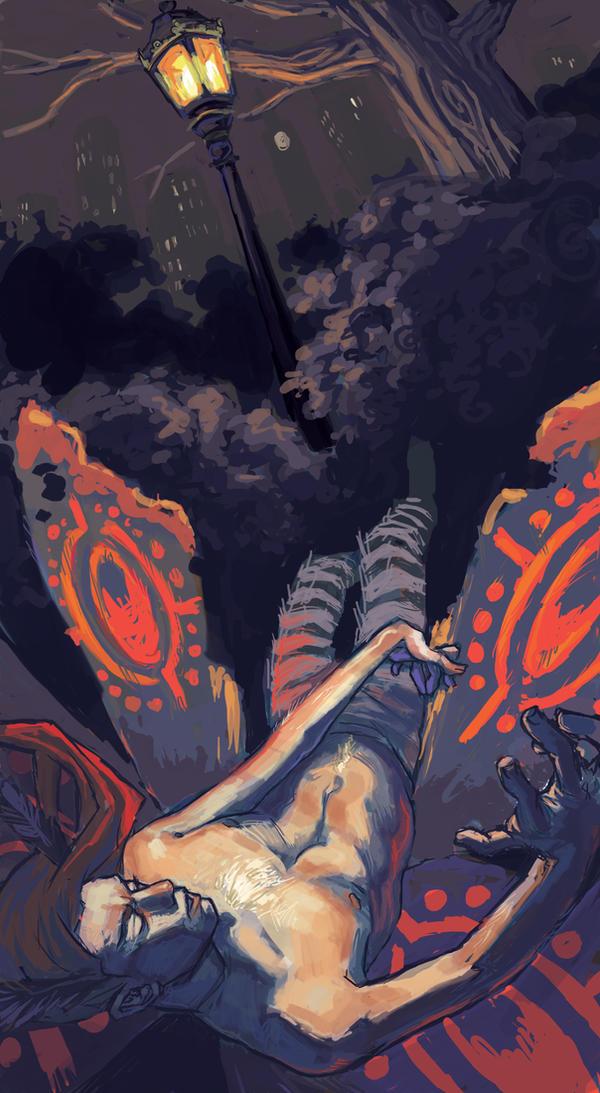 Icarus Falls by UlaFish