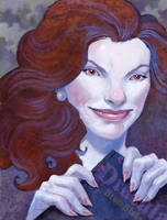 Stephenie Meyer by UlaFish