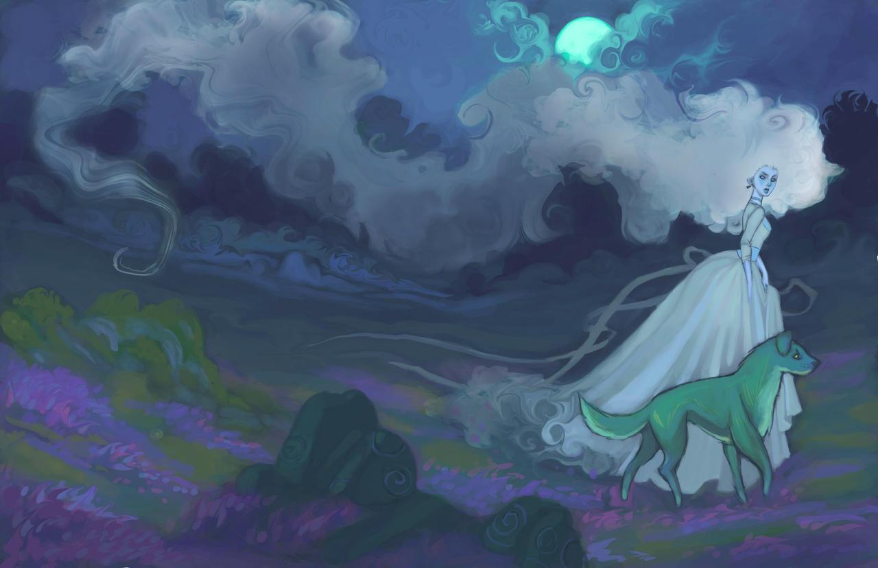 Mist on the Moors by UlaFish