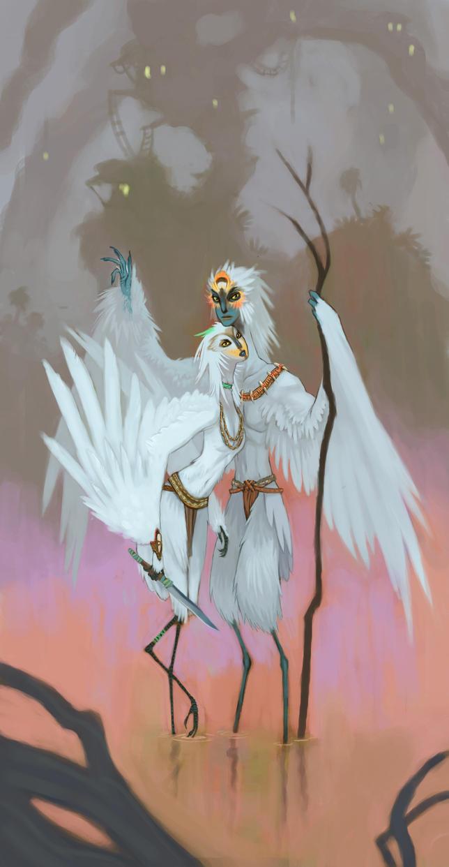 Elegant Creatures by UlaFish
